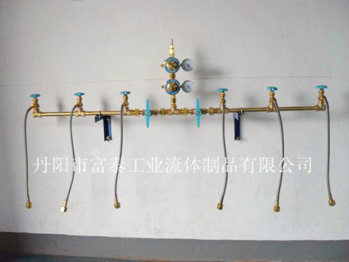 雙側單減氣體匯流排