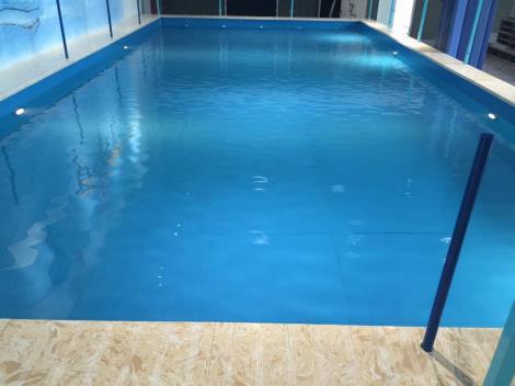 鋼結構游泳池.