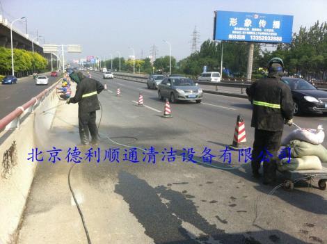 北京桥梁除锈高压水枪清洗机