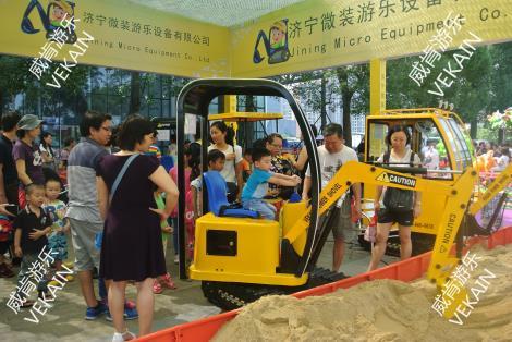 挖土机 儿童玩具车