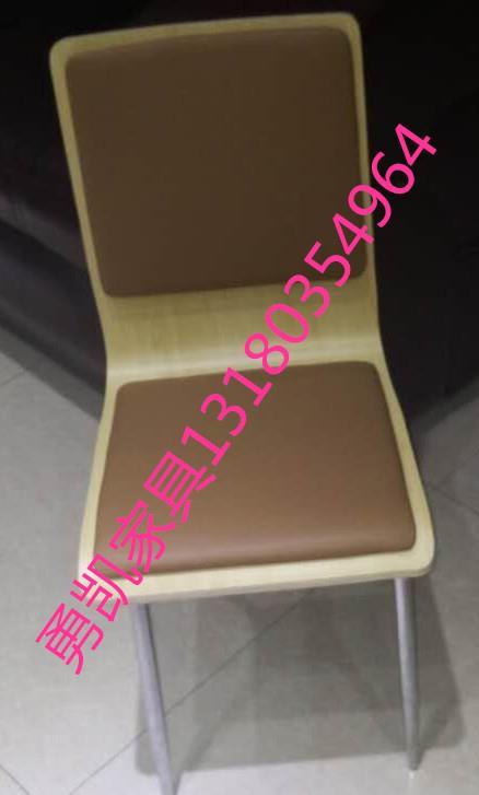 廊坊厂家直销弯曲木椅木纹椅餐桌椅木板椅1