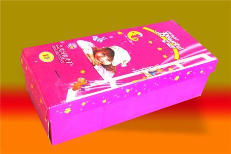 可爱小玩具包装盒