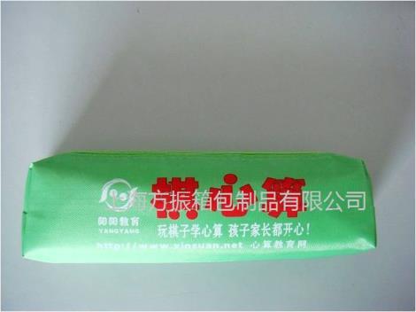 定制學校廣告筆袋FZW可定制LOGO上海方振箱包