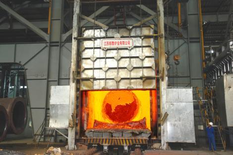 高温台车式加热炉