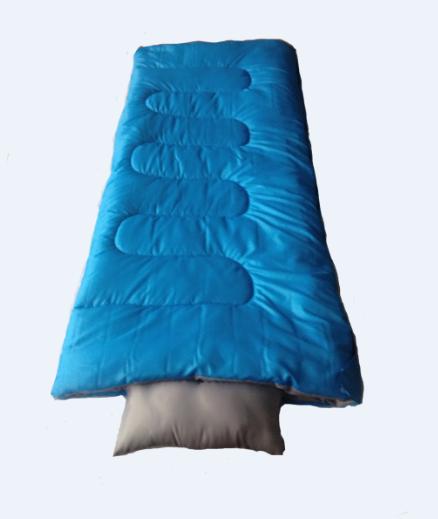 信封睡袋带枕头