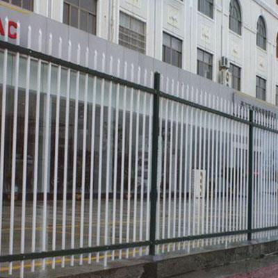 锌钢护栏(双横栏)