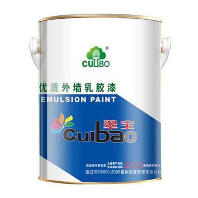翠宝耐紫外线外墙乳胶漆