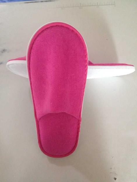 真美布拉毛布拖鞋生产厂家