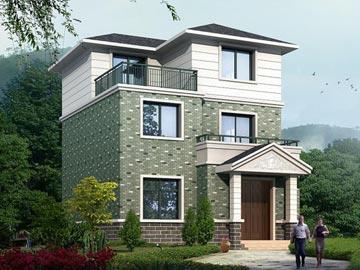 v1006农村三层自建房屋设计图纸