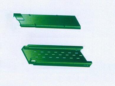 玻璃钢托盘式直通桥架