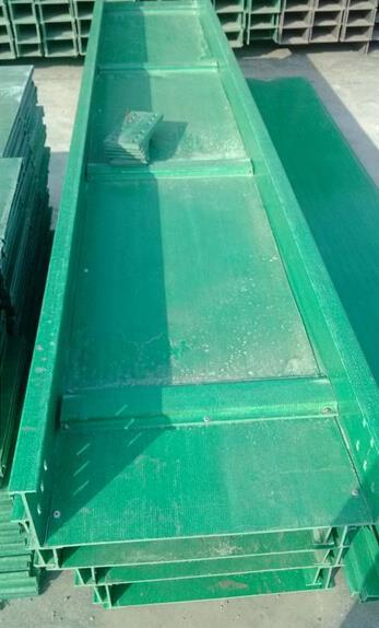 托盘式玻璃钢桥架
