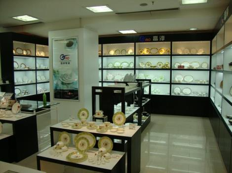 陶瓷工艺品展柜定制