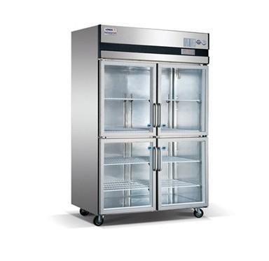 四门展示冰箱