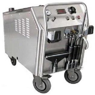 重工機械油泥清洗高溫蒸汽清洗機STI 3
