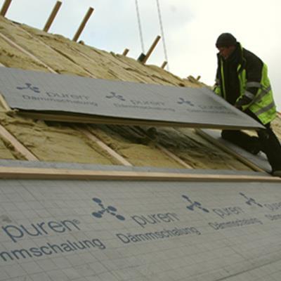 聚氨酯坡屋顶保温
