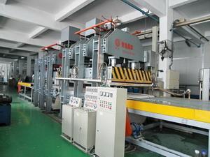 铝蜂窝复合板生产线