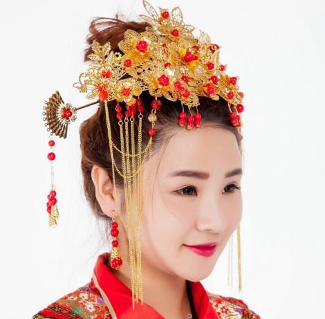 古典新娘佩飾