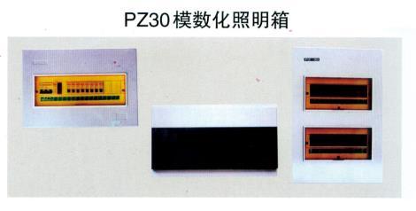 PZ30模数化照明箱