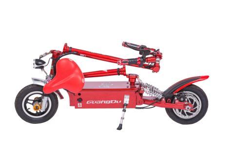 锂电池折叠电动车