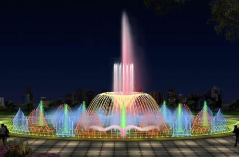 音乐表演喷泉是在程序控制喷泉的基础上加入了音乐控制系统,计算机通过对音频及MIDI信号的识别,进行译码和编码,最终将信号输出到控制系统,使喷泉的造型及灯光的变化与音乐保持同步,从而达到喷泉水型、灯光及色彩的变化与音乐情绪的完美结合,使喷泉表演更加生动更加富有内涵及体现水的艺术。音乐喷泉:可以根据音乐的高低起伏变化。用户可以在编辑界面编写自己喜爱的音乐程序。播放系统可以实现音乐、水、灯光气氛统一,播放同步。