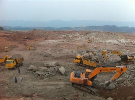 镇江润州区土石方工程