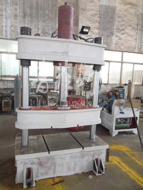 双柱油压机加工