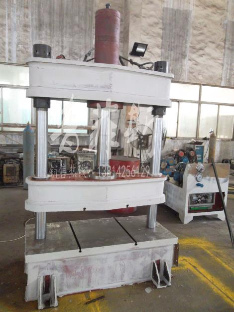 北京双柱油压机