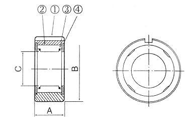 B200系列凸轮离合器