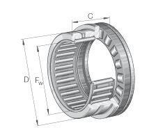 NKXR-滚针与推力圆柱滚子组合轴承