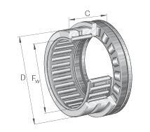 NKXR.z-滚针与推力圆柱滚子组合轴承