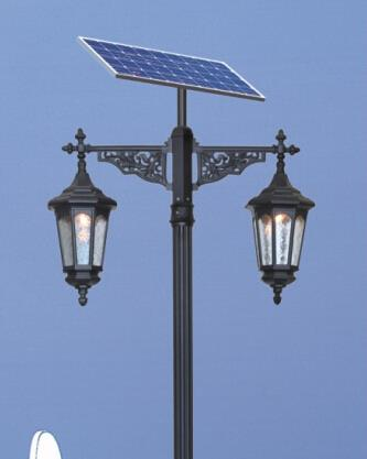 中山华可路灯厂家直销led太阳能庭院灯