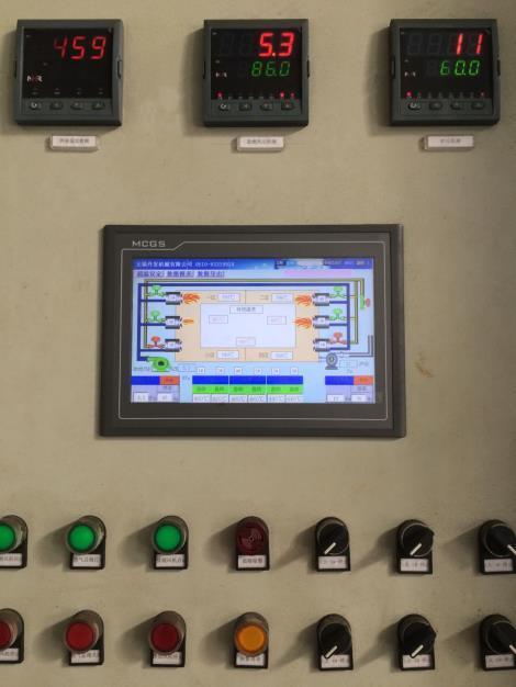 西安镀锌炉监控画面