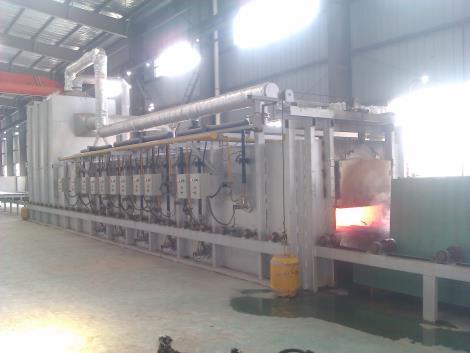 广州不锈钢固熔炉