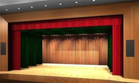 泰州电动舞台幕