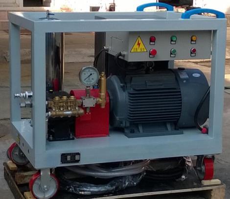 工业用冷水清洗机丨武汉去结皮高压水枪