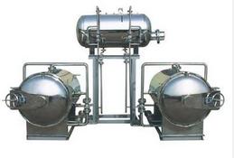 双层热水循环杀菌锅