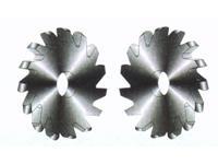 整体硬质合金锯片铣刀(外R型)