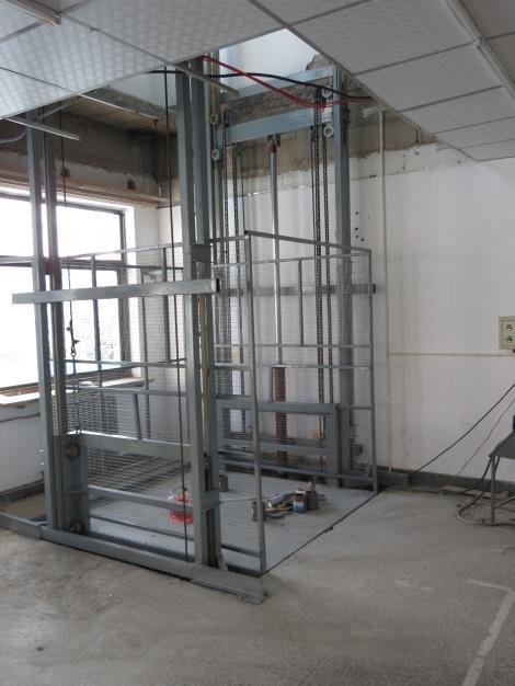 厂房上下二层货梯接线图