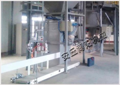 定量稻谷包裝秤  自動包裝碼垛機器人直銷