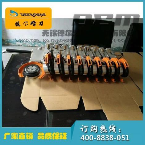 高速机分切气动刀架铝合金气动刀架分条机气