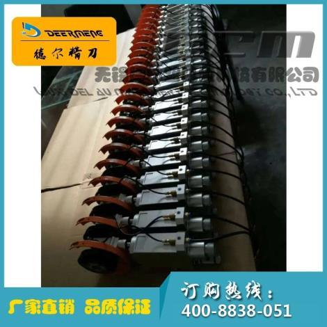 包装材料气压式分切刀组铁壳气压刀组