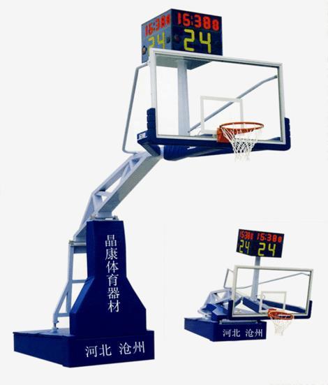遙控操作電動液壓籃球架