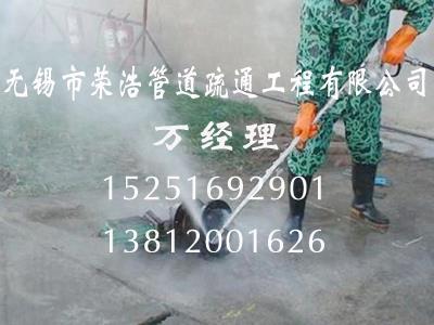 高压车清洗地面