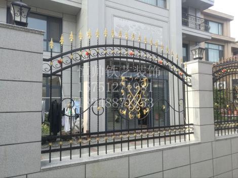 镇江铁艺围栏