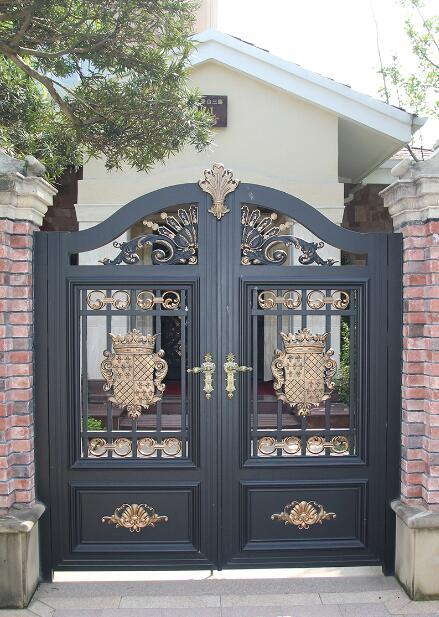 豪华家装铜门