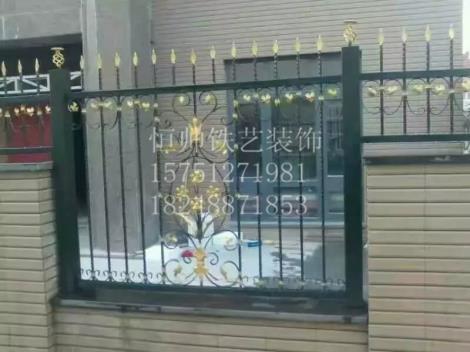 扬中铁艺护栏