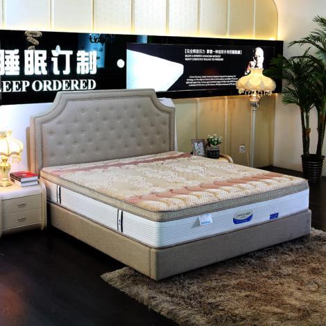 床墊天然乳膠5公分五星級酒店高檔席夢思