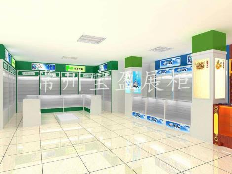 药房展柜设计