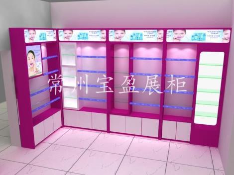 化妆品展示柜台