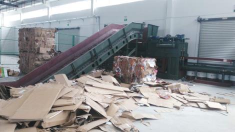 武汉废纸打包机